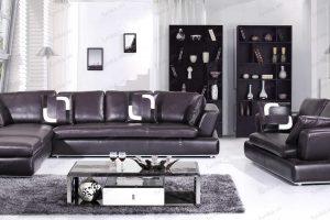 sofa da góc S-333