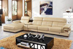 sofa da góc S-528