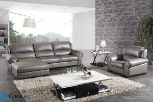 sofa da góc S-536
