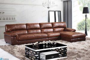 sofa da góc nhập khẩu-S-305