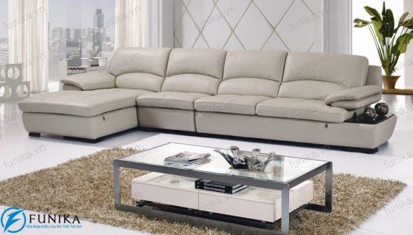 sofa da góc nhập khẩu S-310