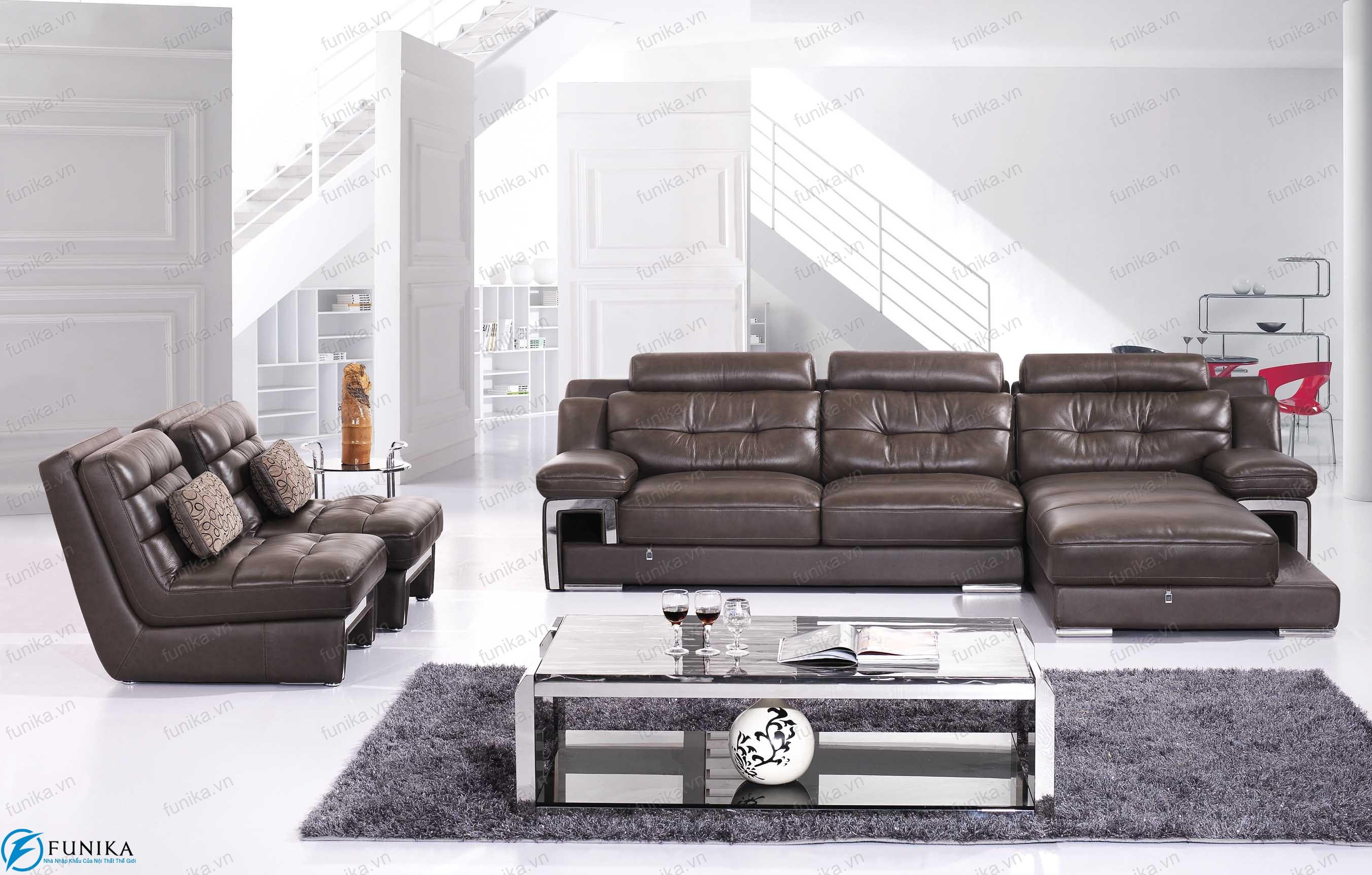 sofa da góc S-320
