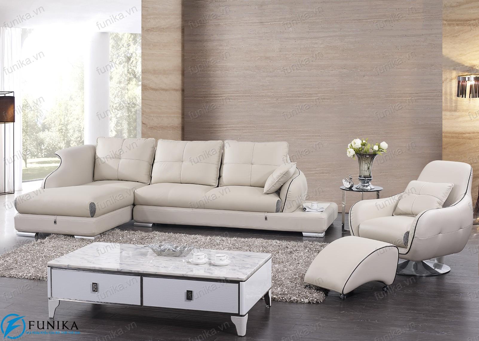 sofa da góc S-368