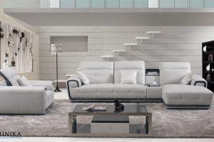 sofa da góc S-379