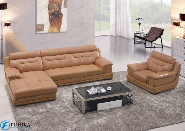 sofa da góc S-393