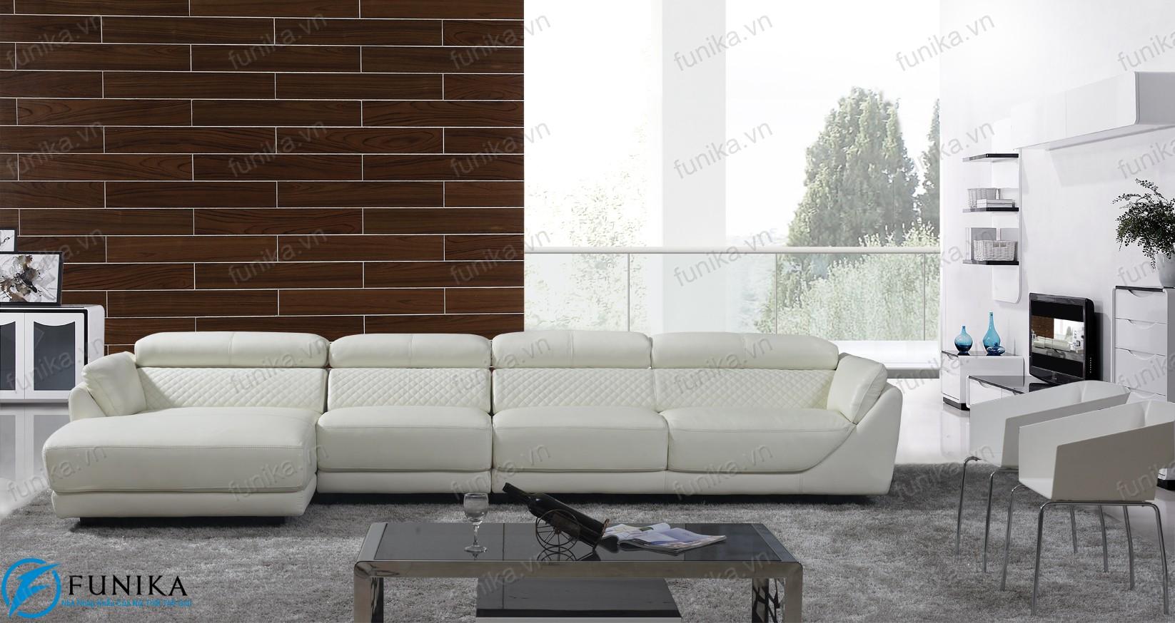 sofa da góc S-397