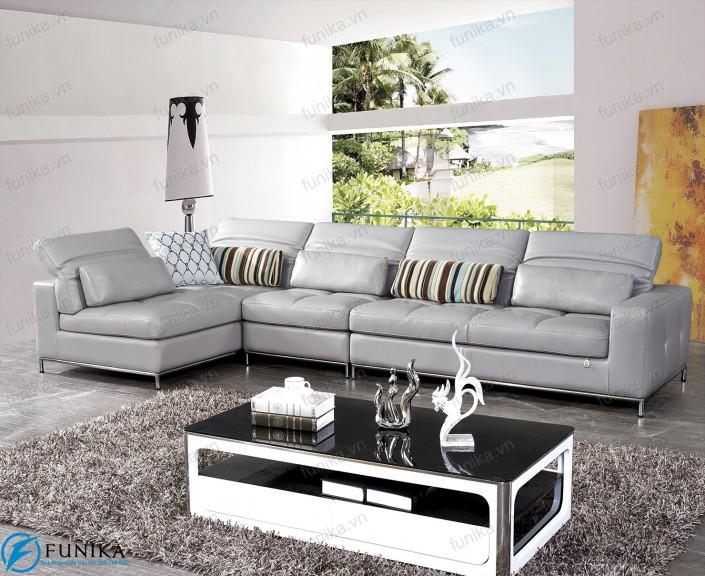 sofa da góc S-538