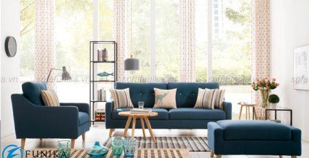 Sofa bàn trà nhập khẩu cao cấp cho phòng khách từ Sofafunika.vn