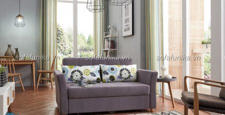 Thiết kế sofa giường nhỏ gọn gàng để tiết kiệm diện tích