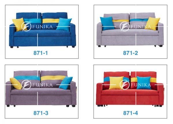 Màu sắc ghế sofa giường nằm 871