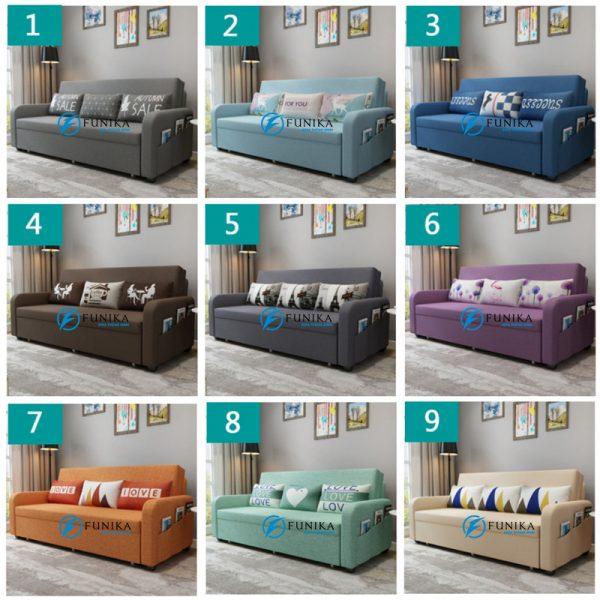 Màu sắc sofa giường có hộc đồ F899