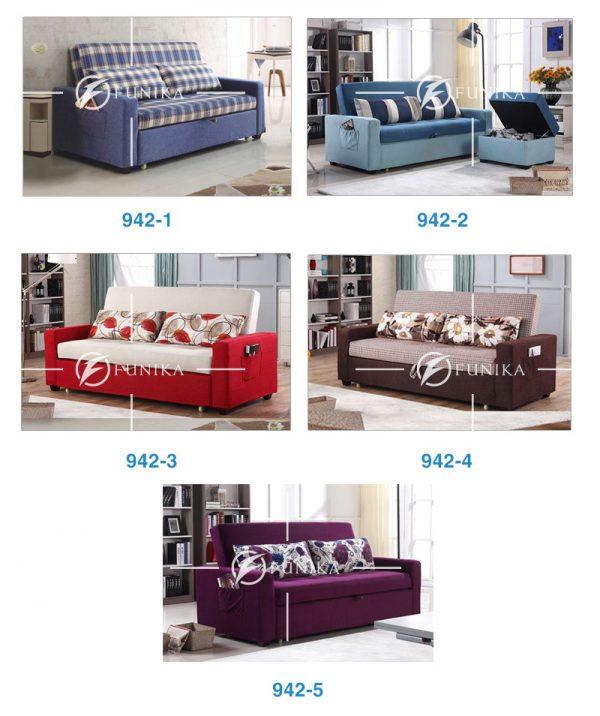 Màu sắc sofa giường đa năng 942