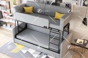 giường sofa 2 tầng 9026