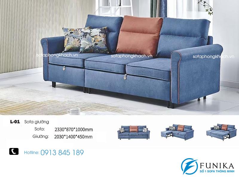 Sofa giường L01 cao cấp